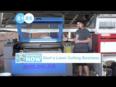 BusinessNow S1E5 - Start a Laser Crafting Business with CNC Laser Engraving and Cutting Machines