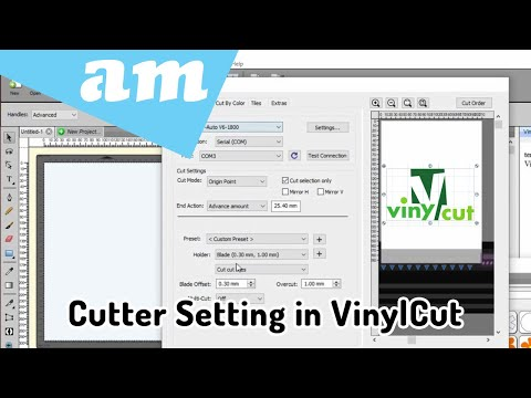 Install V-Series, V-Smart and V-Auto Vinyl Cutters Driver and Setup in VinylCut 5 Software Guide