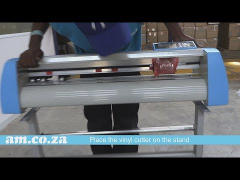 V-Series Vinyl Cutter Step by Step Assemble Video with VinylCut Software & Printer Driver Install