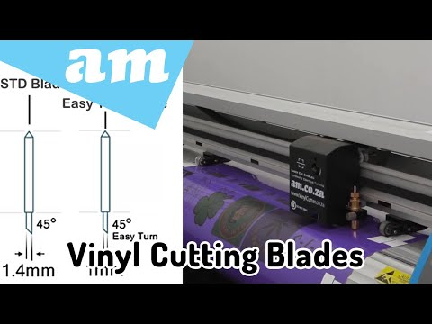 Difference Between 30 45 60 Degree Vinyl Cutting Blades and Vinyl Blades for Vinyl Cutters Guide
