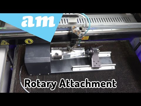 Surface Drive and Claw Centre Drive Rotary Attachment for Laser Cutting Machine Function Explained