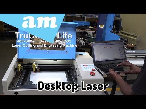 Introduce TruCUT Lite Desktop Laser Cutting and Engraving Machine for Hobby and Small Workshop
