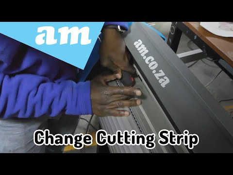 When to Replace and How-to Replace Cutting Strip on V-Series, V-Smart and V-Auto Vinyl Cutters