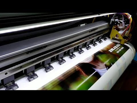 FastCOLOUR Dual Printer with Double EPSON DX5 Printheads, Fast and High Resolution Printing Result