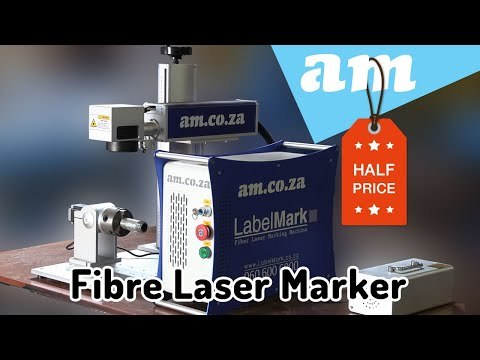 New LabelMark Fibre Laser Marking Machine with Native Rotary Unit Support and Mass Price Reduce
