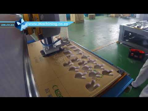 EasyRoute Heavy Duty CNC Router with Linear Automatic Tool Change ATC Tested on 16mm Perspex Cutting