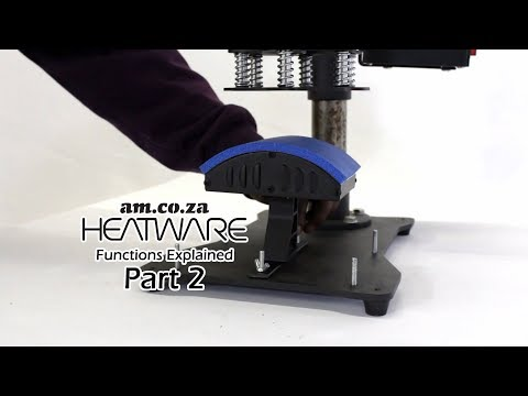 Multi Function Heat Press, Heatware 9 in 1 Combo Function Explained, Mini Series Part 2 Bottom Part,