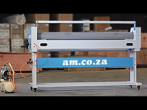 Rollman RM-1520 Industrial Laminator with Pneumatic Lifter, an Entry Level Laminator from AM.CO.ZA